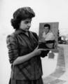 Annette Funnicello Holding A Picture Of Paul Anka  - cherl12345-tamara photo