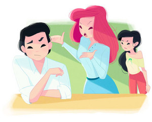 Ariel's mom life