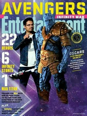 Avengers Infinity War EW covers
