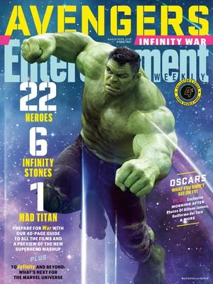 Avengers: Infinity War - Hulk Entertainment Weekly Cover
