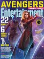 Avengers: Infinity War - Nebula and Scarlet Witch Entertainment Weekly Cover