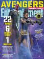 Avengers: Infinity War - The Vision and Shuri Entertainment Weekly Cover