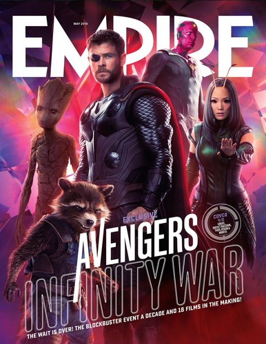 Avengers: Infinity War 1 & 2 壁纸 titled Avengers Infinity War Empire magazine cover