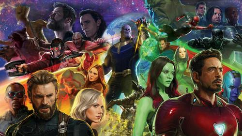 Avengers: Infinity War 1 & 2 壁纸 entitled Avengers: Infinity War