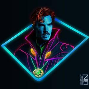 Avengers Infinity War character fã art