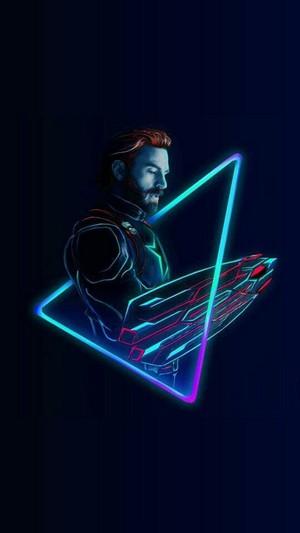 Avengers character peminat art