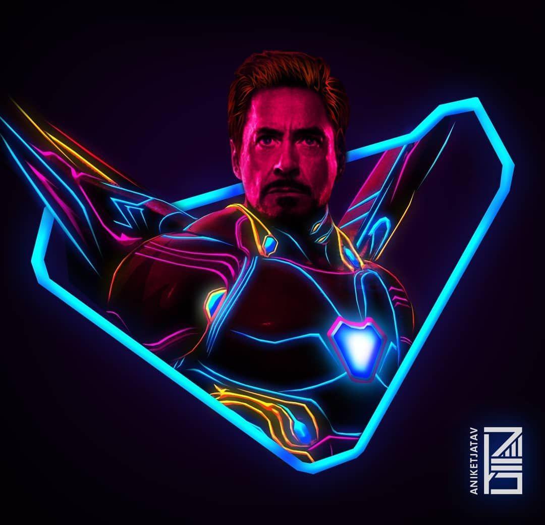 Avengers character fan art
