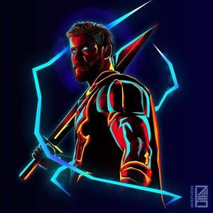 Avengers character پرستار art