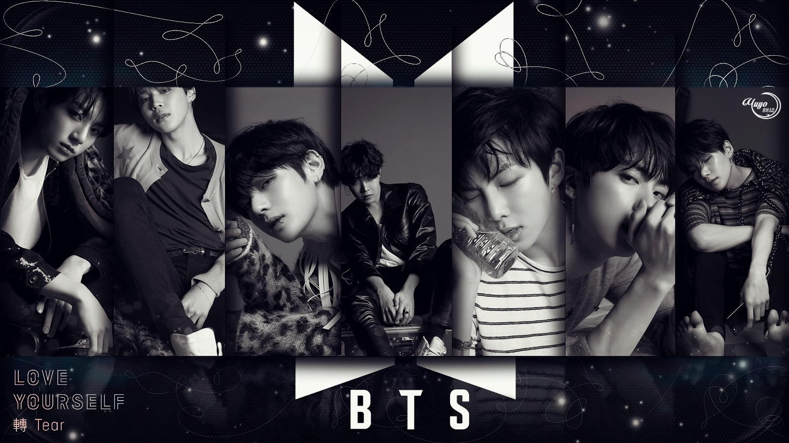 BTS FAKE LOVE #WALLPAPER