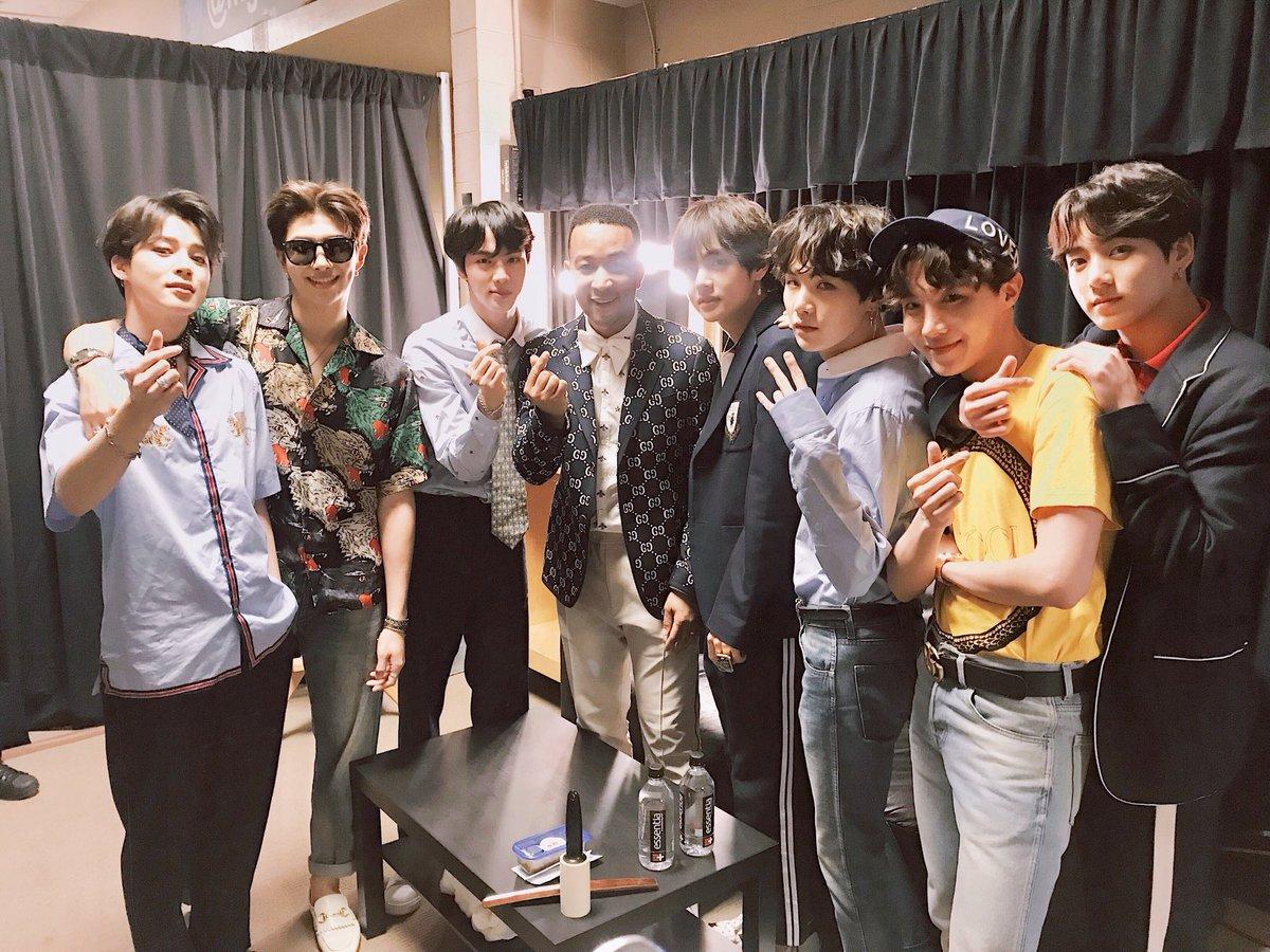 BTS at BBMAs 2018