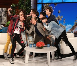 Bangtan Boys in The Ellen montrer 2018