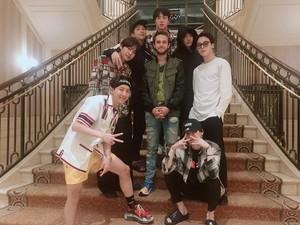 BTS with Zedd