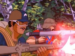 bazooka, bazoka and Alpine Sunbow G.I.Joe cartoon series