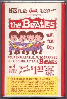 Beatles Nestle's ad