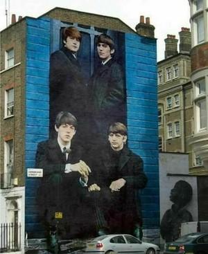 Beatles ukuta mural