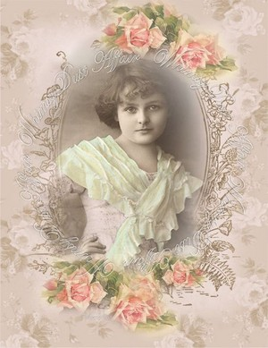 Beautiful Vintage Lady