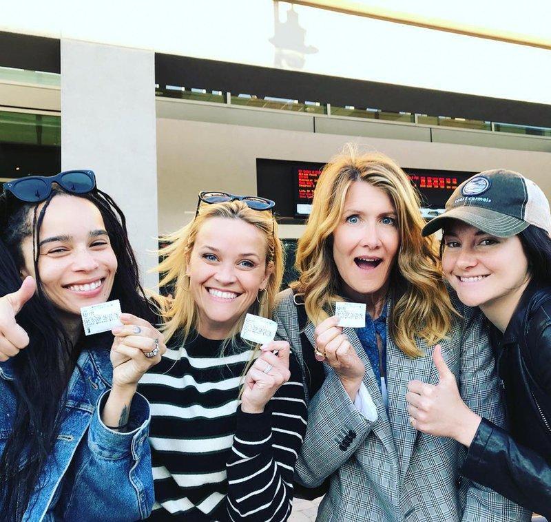 "Big Little Lies Cast at ""Adrift"" movie premiere"