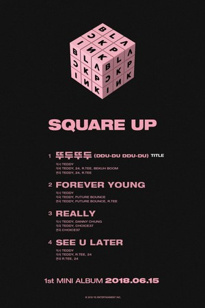 Black ピンク reveals full 4-song tracklist to 1st mini album