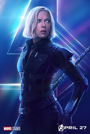 Black Widow - Avengers Infinity War character poster