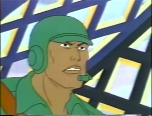 Bullet-Proof Dic G.I.Joe cartoon series