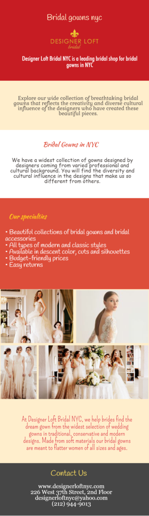 Buy Best Bridal Gowns Nyc