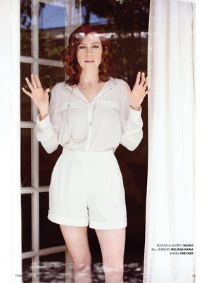 Carrie Preston - Bello Photoshoot - 2014