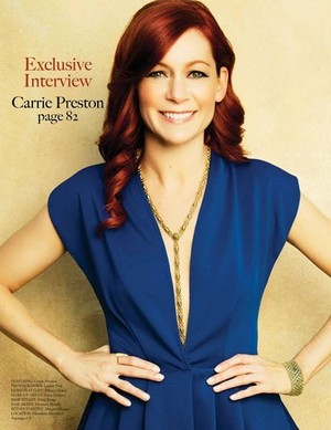 Carrie Preston - Gladys Photoshoot - 2013
