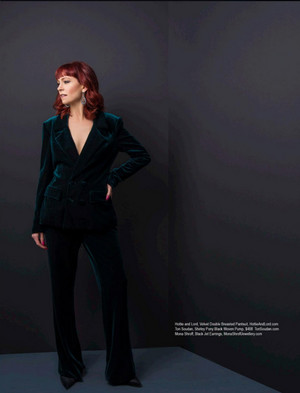 Carrie Preston - Regard Photoshoot - 2017