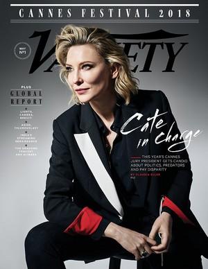Cate Blanchett for Variety Magazine [May 2018]