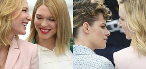 Cate at Cannes FF 2018 with Kristen Stewart