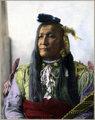 Chief Mountain (Blackfoot-Siksika) 1989 by Frank A Rinehart