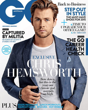 Chris Hemsworth - GQ Australia Photoshoot - 2015