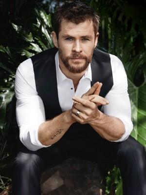 Chris Hemsworth - GQ Australia Photoshoot - 2016
