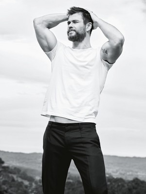 Chris Hemsworth - GQ Australia Photoshoot - 2016