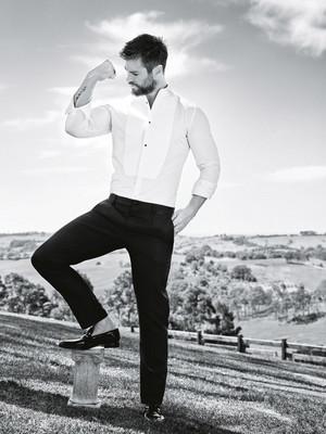Chris Hemsworth GQ Australia photoshoot