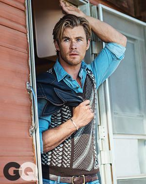 Chris Hemsworth - GQ Photoshoot - 2015