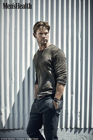 Chris Hemsworth - Men's Health UK Photoshoot - 2016