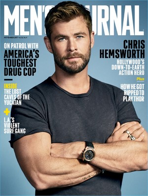 Chris Hemsworth - Men's Journal Cover - 2017