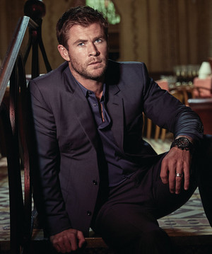 Chris Hemsworth - Modern Luxury Photoshoot - 2016