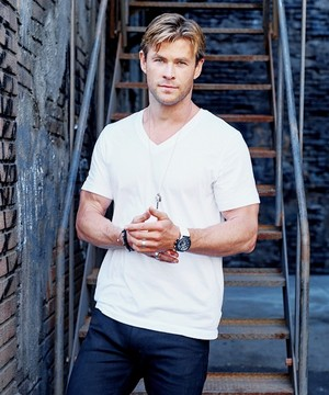 Chris Hemsworth - Tag Heuer Photoshoot - 2015