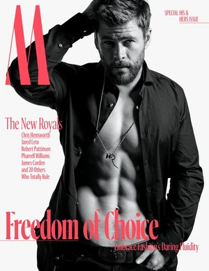 Chris Hemsworth - W Magazine Cover - 2017
