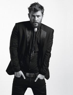 Chris Hemsworth - W Magazine Photoshoot - 2017