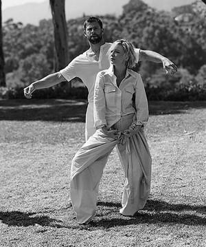 Chris Hemsworth and Cate Blanchett Vogue Australia photoshoot