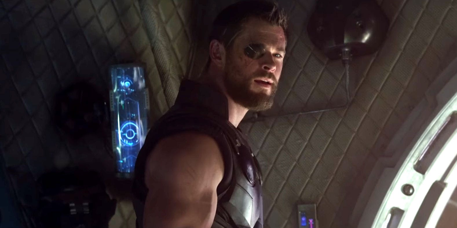 Image result for chris hemsworth infinity war still