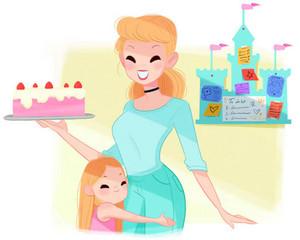 Cinderella's mom life