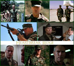 Clint in Heartbreak Ridge