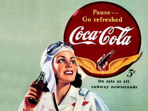 CocaCola 50's- wallpaper