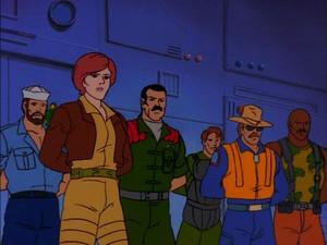 Covergirl, Shipwreck, Mutt, Tripwire Wild Bill and Roadblock Sunbow G.I.Joe cartoon series