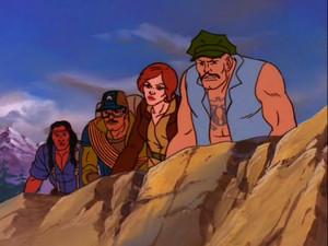 Covergirl, Spirit, Alpine, and Gung-Ho Sunbow G.I.Joe cartoon series