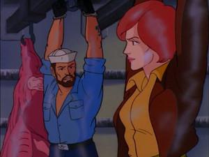 Covergirl and Shipwreck Sunbow G.I.Joe cartoon series